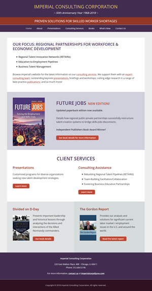 Imperial Consulting Corporation home page