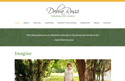 Debra Rossi home page thumbnail